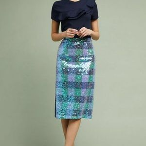 Maeve by Anthropology midi skirt